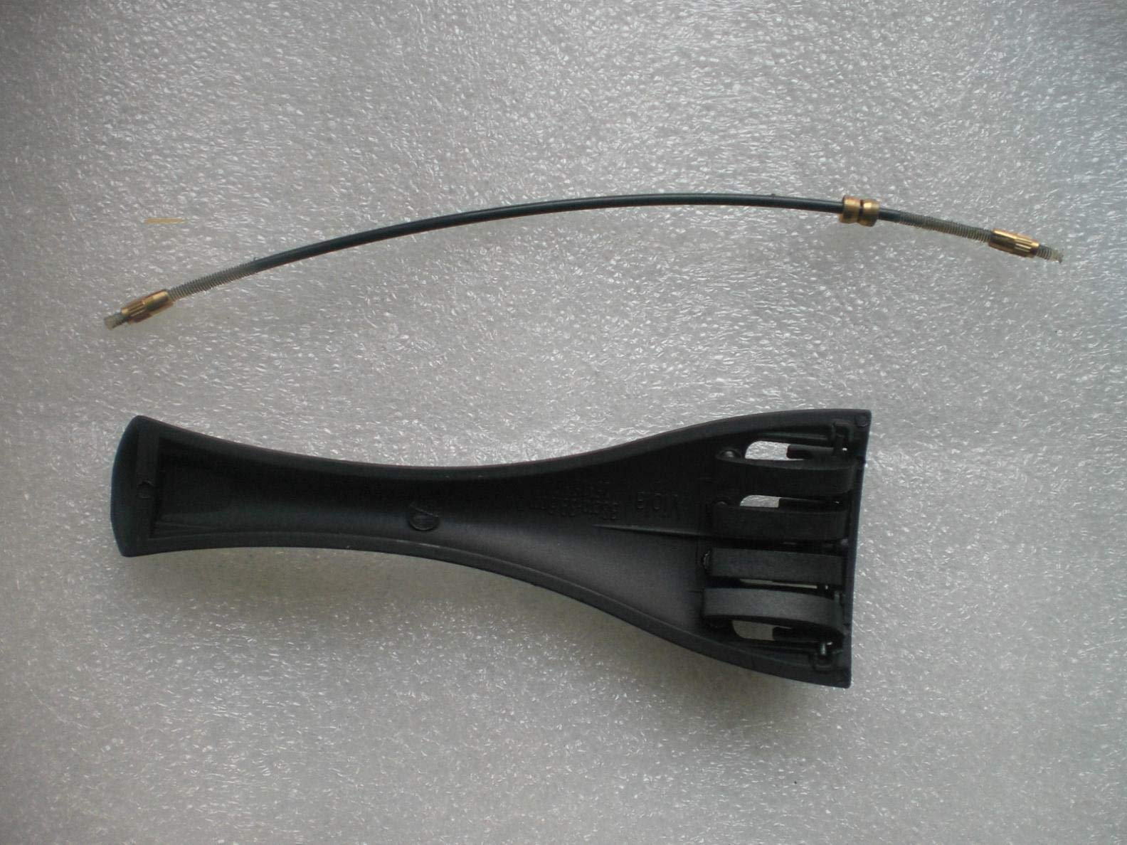 FidgetKute 20 PCs Carbon Fiber Viola Tail Piece for 15'' with 20 PCs Viola Tail Guts Show One Size by FidgetKute