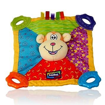 Nuby Art. 6568 Teething Blankie Toy - Monkey