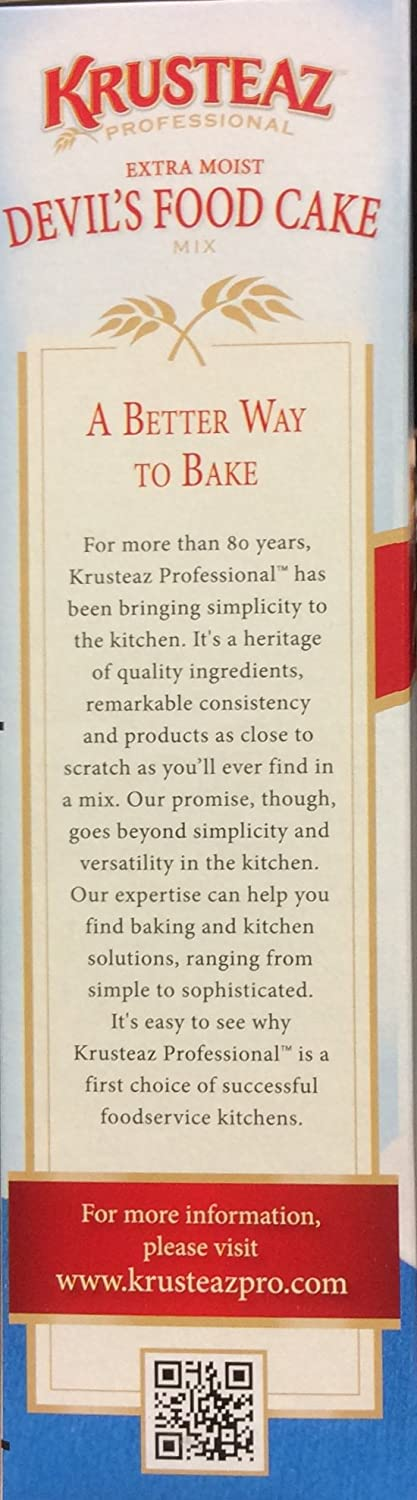 Amazon.com : Krusteaz Cake Mix - Plus Devils Food, 72-Ounce : Grocery & Gourmet Food