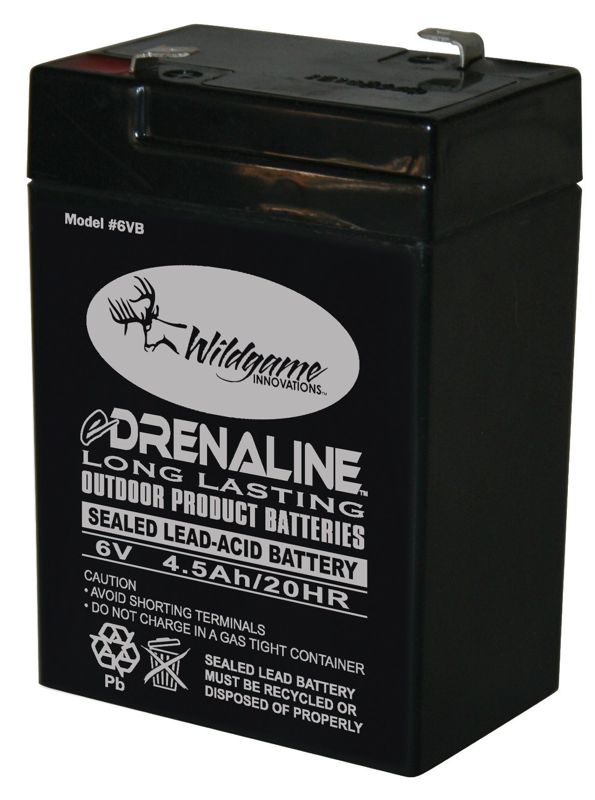 Wildgame Innovations 6-Volt eDRENALINE Tab Style Rechargeable Battery by Wild Game Innovations