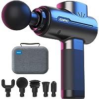 RENPHO Massage Gun Deep Tissue, Portable Massager Gun Deep Tissue Weighted Only 1.5lbs, Handheld Percussion Massage Gun…