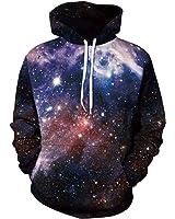 Sexy&Stylish Print Sweaters Galaxy Hoodies Colorful Sweatshirts