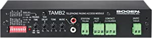 Bogen TAMB2PS Communications TAMB2 Telephone Access Module with Power Supply,Black
