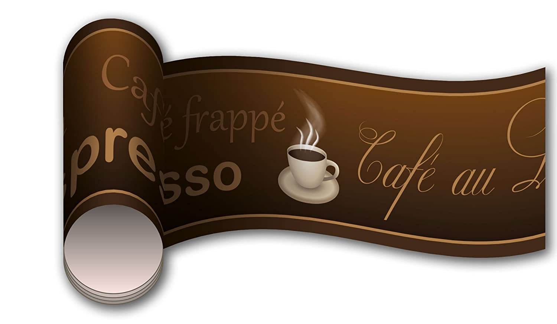 wandmotiv24 Bordü re Kaffee Wandborde Borde | Papier