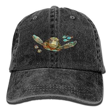 Jocper Tortugas Marinas Buceo Sombrero de Dril de algodón ...