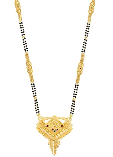 b6fa0e9ad0174 Mansiyaorange Traditional One Gram Gold Glorious Hand Meena Long ...