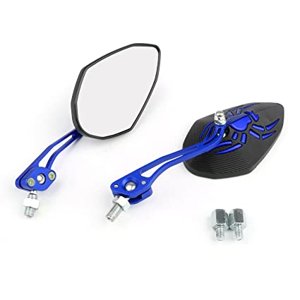 Artudatech - Espejo retrovisor para motocicleta, universal, 10 mm ...