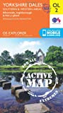OS Explorer ACTIVE OL2 Yorkshire Dales - Southern & Western areas (OS Explorer Map)