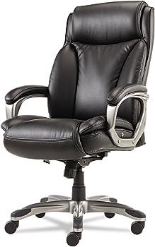 Alera Veon Series Executive High-Back Leather Chair