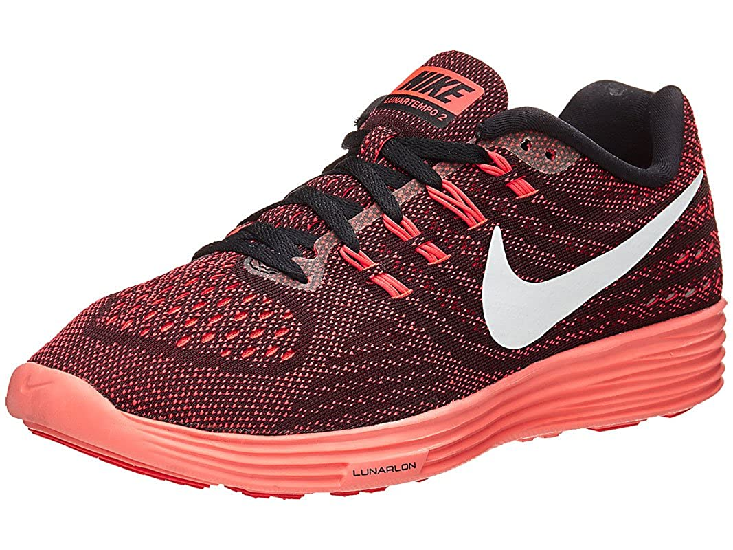 reputable site b313f 8dcea NIKE Womens Lunartempo 2 Running Trainers 818098 Sneakers Shoes (US 7. 5,  Bright Crimson White mright Mango 600)  Amazon.in  Shoes   Handbags