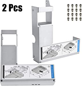"3.5"" to 2.5"" HDD Adapter 9W8C4 Y004G SSD Bracket for Dell Poweredge Series 11/12/13/14 Generation Server F238F KG1CH G302D X968D F9541 Hard Drive Tray Caddy"