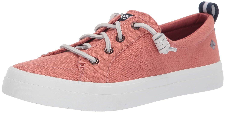 Nantucket Red Sperry Women's Crest Vibe Linen shoes