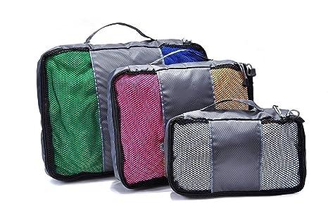 Bolsa para ropa de viaje, coffsky resistente bolsas de malla ...