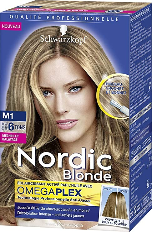 Kit meche blonde nordic