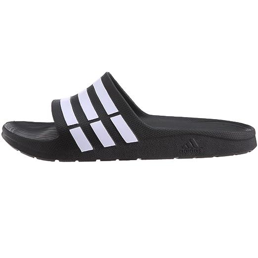more photos 7aee9 04d20 Amazon.com Adidas Duramo Slide Shower Sandal Shoes