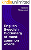English - Swedish Dictionary of most common words