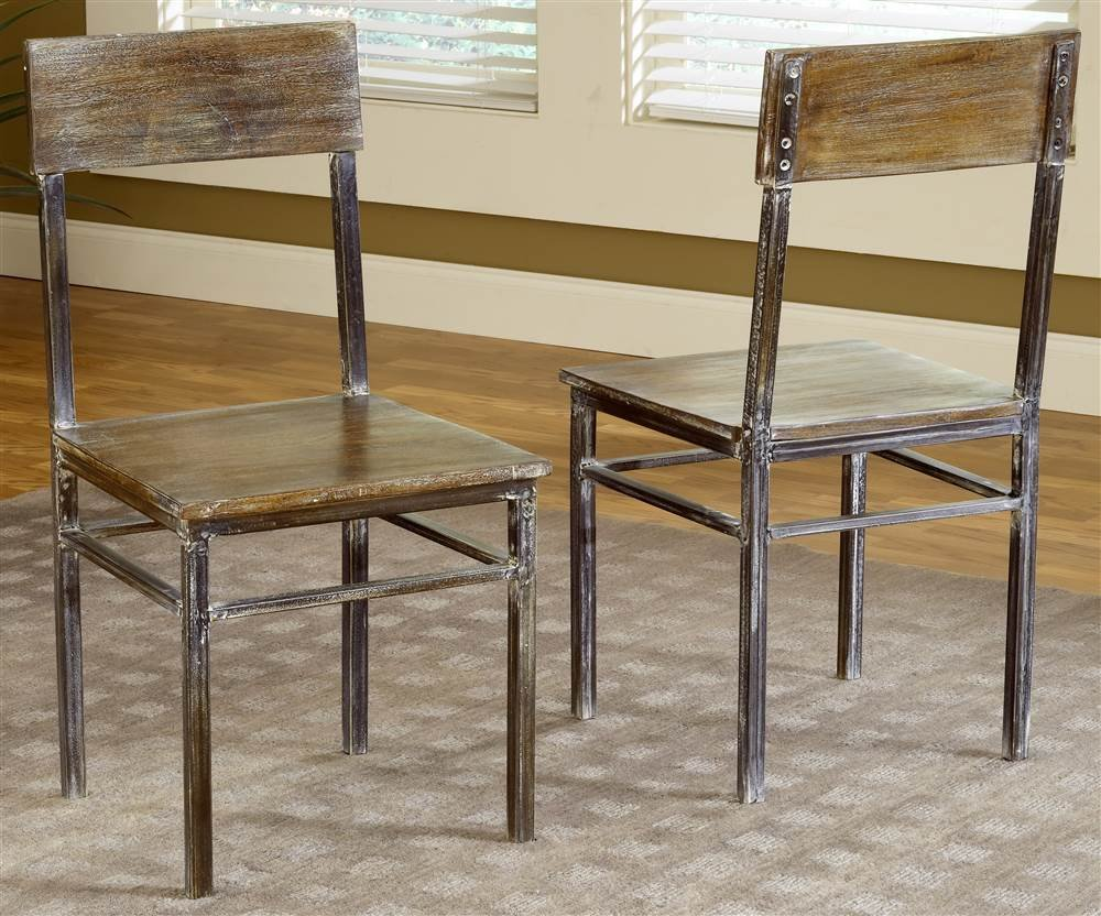 Modus furniture 5m4766 farmhouse dining chairs set of two