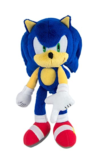 Amazon.com: Sonic Modern Collector Plush, Blue: Toys & Games