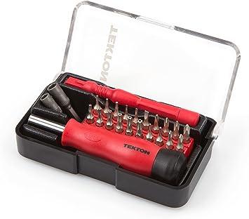 TEKTON 2830 Pack de 27 Destornilladores y Brocas de precisión ...