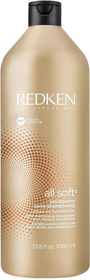 Redken All Soft Argan Oil Conditioner | for Dry/Brittle Hair | Moisturizes & Provides Intense Softness