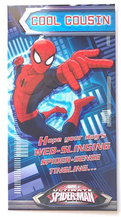 Amazon.com: Shop Inc Ultimate Spiderman Cool Primo Tarjeta ...