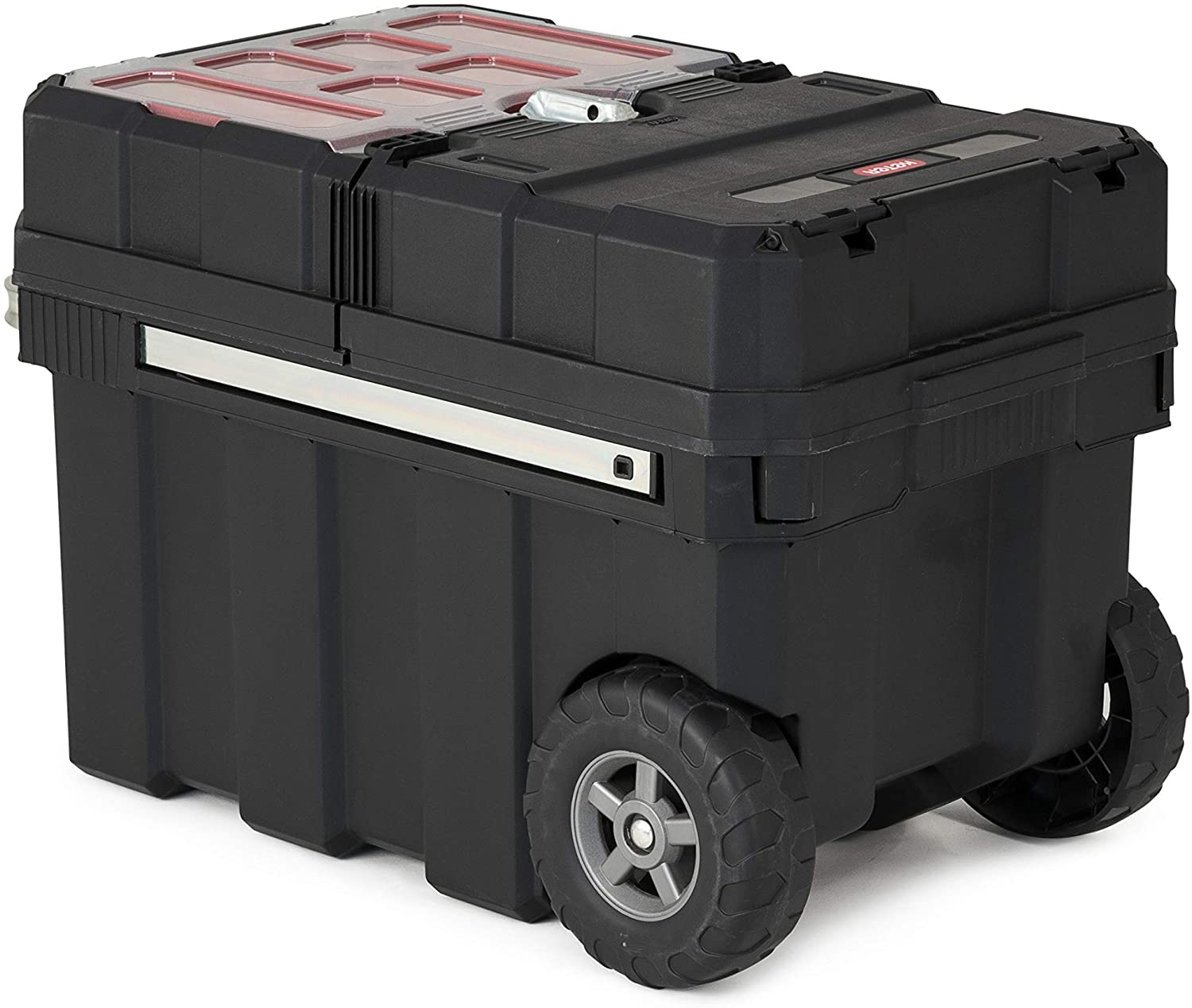 Keter Masterloader Resin Rolling Tool Box - best tool chest under 500