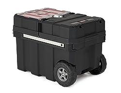 Keter Masterloader Resin Rolling Toolbox
