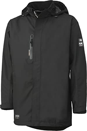 Helly Hansen - Abrigo, Color Negro
