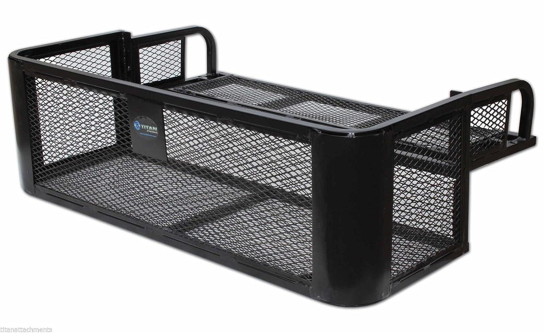 p black discount rear basket steel rack ramps mesh atv widow atvrb