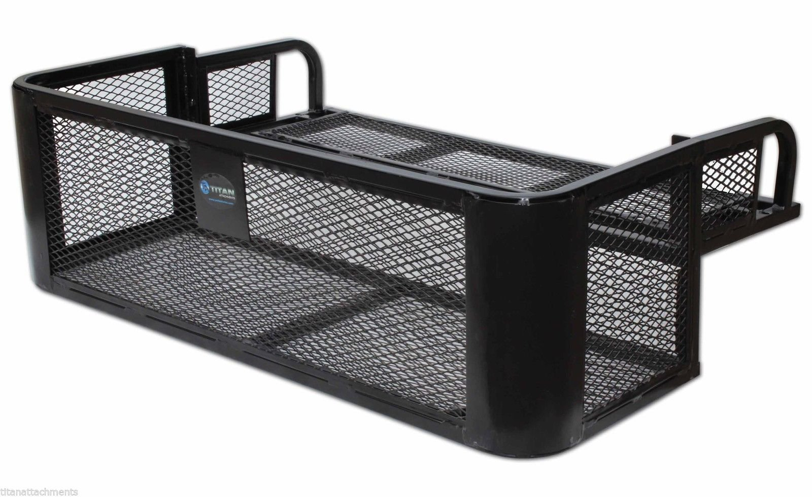 ATV UTV Universal Rear Drop Basket Rack Steel Cargo Hunting Titan DDB2010