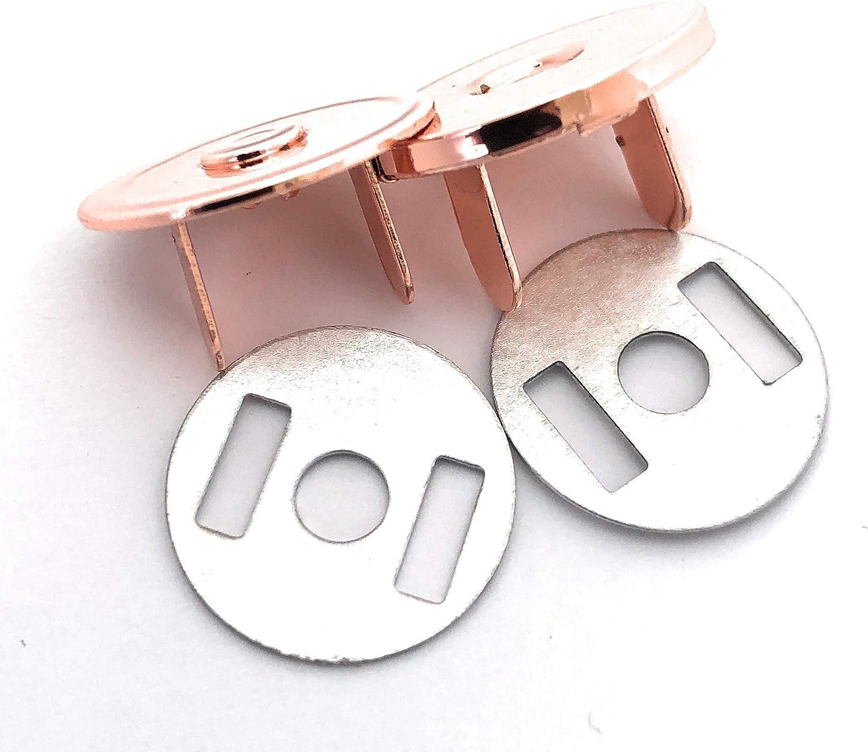 1 Slider 2.5 cm 2 Rose Gold 1 kit Contains Swivel Clips 1 Magnetic Clip D-Rings 2