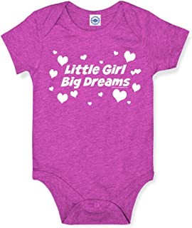product image for Hank Player U.S.A. Little Girl Big Dreams Baby Onesie