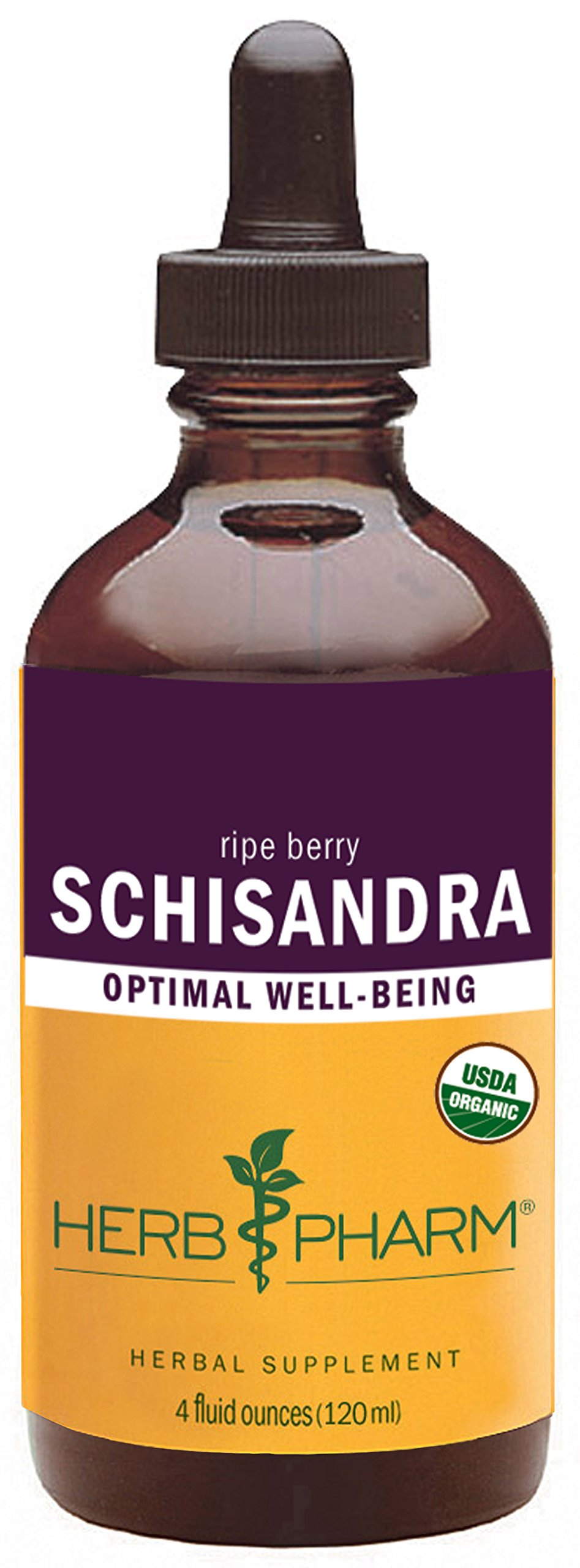 Herb Pharm Certified Organic Schisandra Berry Extract - 4 Ounce