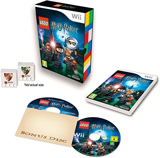 Lego Harry Potter Years 1-4 Collectors Edition Game Wii ...