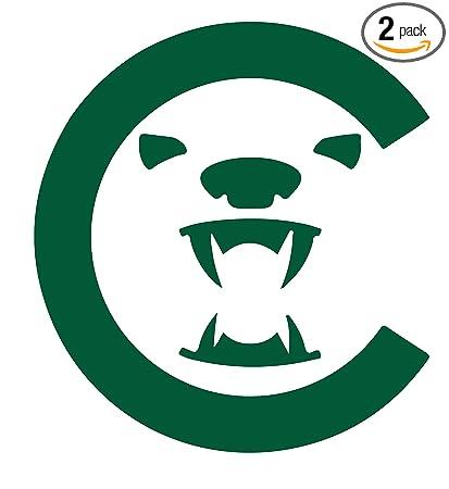 Amazon Angdest Chicago Bears Football Green Set Of 2