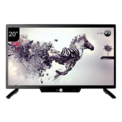 Daiwa 50.8 cm (20 inches) D21C1 HD Ready LED TV (Black) Televisions at amazon