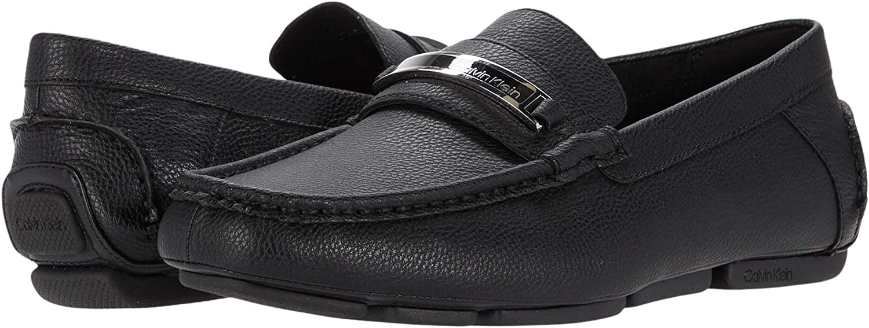 Calvin Klein Women's Merve Jr Weave Emb Ankle-High Loafers & Slip-On