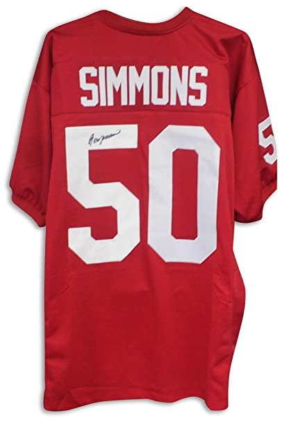 hot sales 14eba 9e311 Ron Simmons Florida State Seminoles Autographed Red Jersey ...