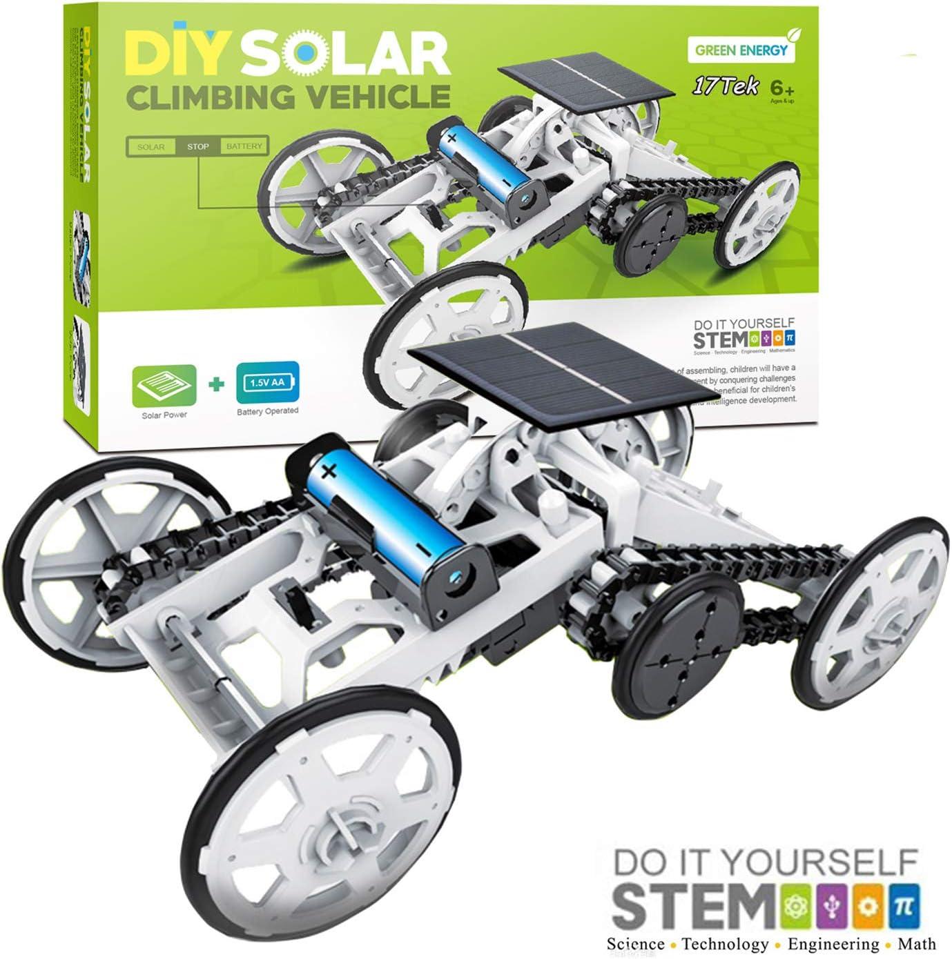 17Tek STEM Educational Solar Robot Green Energy DIY Science Solar Power Kits