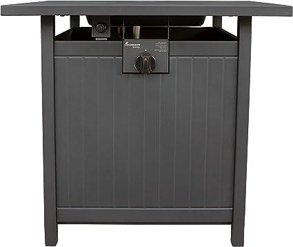 Landmann Welsey 22597 Gas Fire Table Black Amazon De Garten