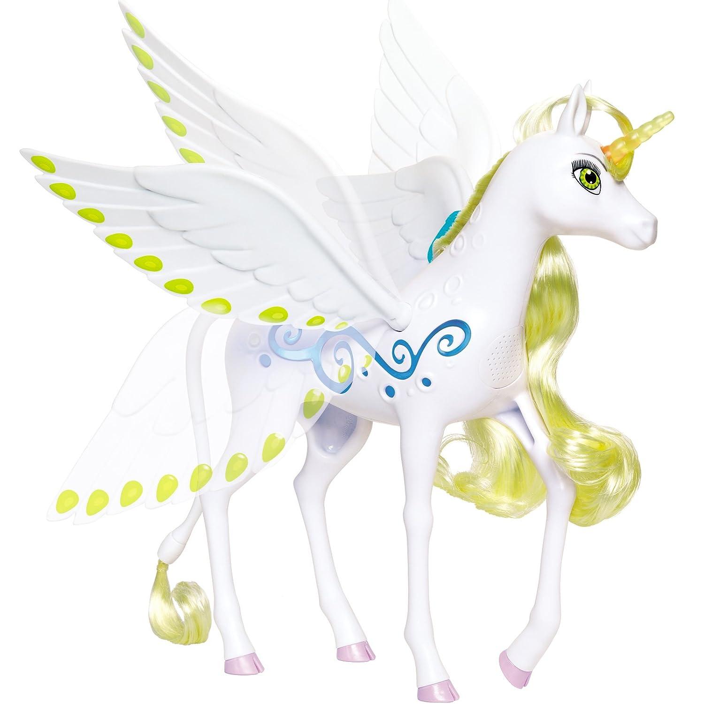 #0107 Mia und me Einhorn Onchao 25 cm mit beweglichen Flügel Sowie Licht Sound • Unicorn Pegasus Spielzeug Pony Kinder