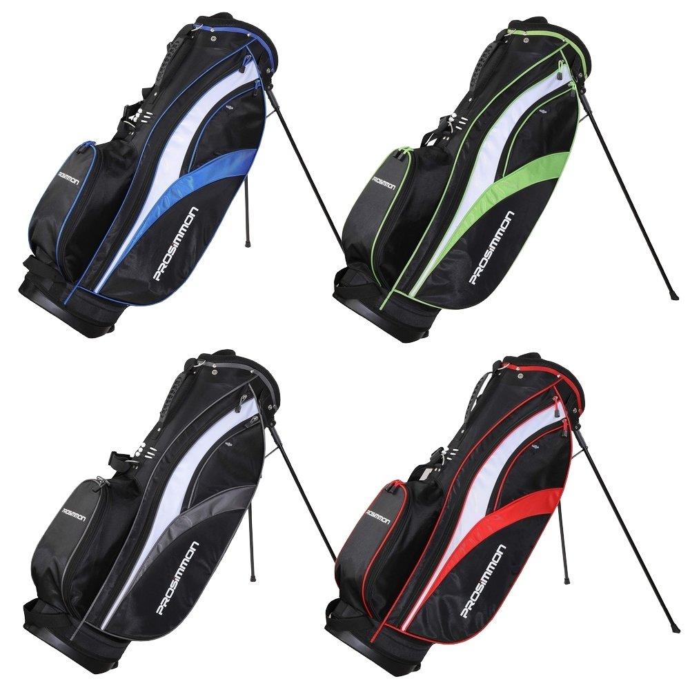 Prosimmonゴルフツアースタンドバッグ B011O6R6SM ブラック/ブルー ブラック/ブルー