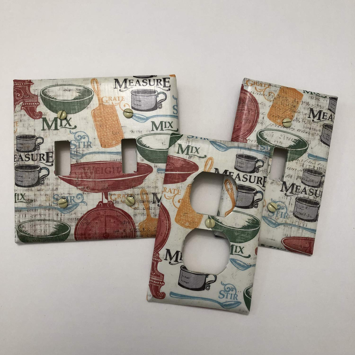 Made to Order Coffee Time Decorative Decoupage Light Switch Covers