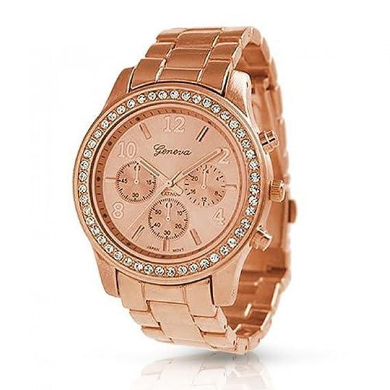 b081e0ad6725 Reloj - Geneva - para - AN-9073  Geneva Platinum  Amazon.es  Relojes