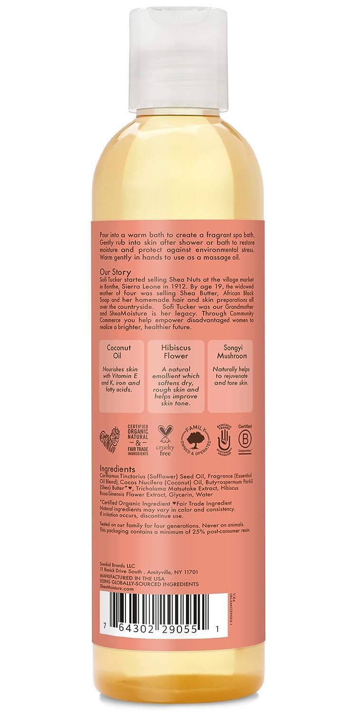 Amazoncom Sheamoisture Coconut Hibiscus Bath Body Massage