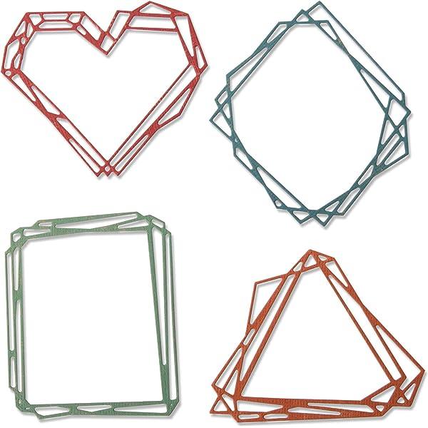 GEO-Dies mini cutting dies for beautiful geometric designs