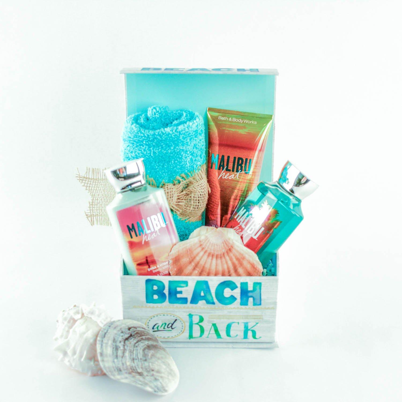 Malibu Heat Spa Gift Basket