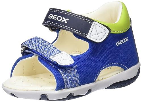 57b38e0b26 Geox B Sandal Elba B, Sandalias de Punta Descubierta para Bebés: Amazon.es:  Zapatos y complementos