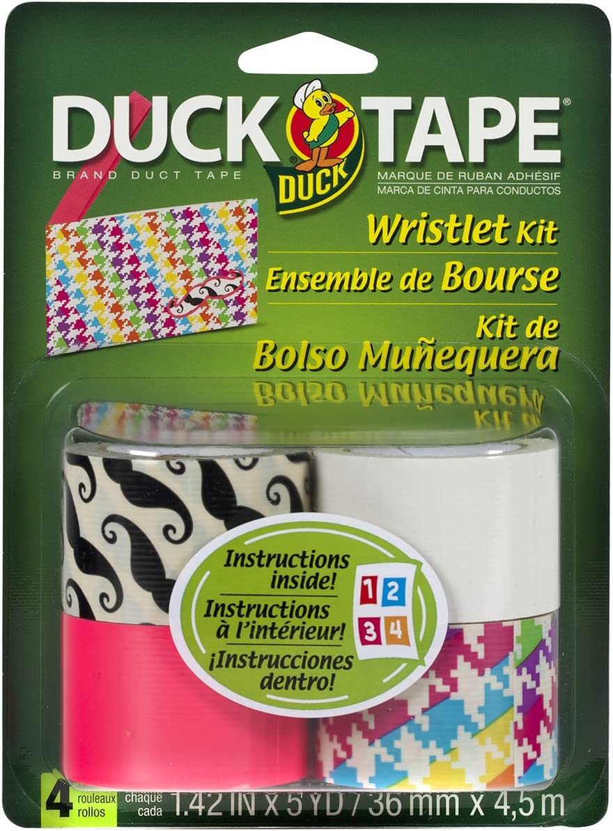 ShurTech Duck Tape Craft Kit Wristlet Kit Arts and Crafts Project