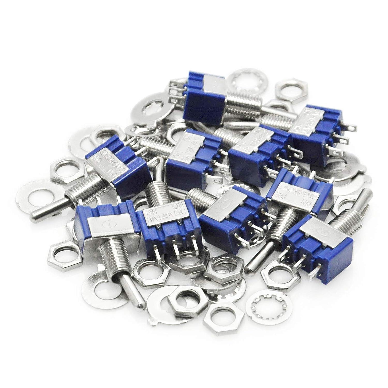 lot de 10/pcs Ek2021 Gikfun Mts102/2/position 3/broches mini Interrupteur /à bascule pour Arduino